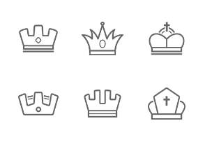 Crown&Trophy Outline Stroke
