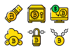 Crypto Currency - Yellow