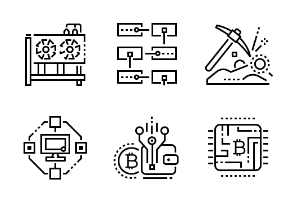 Cryptocurrency - Fourteen - Black-and-White