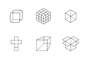 Cube - Outline