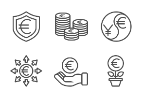 Currency - Euro - Set 3