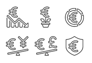 Currency - Euro - Set 4