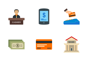 Currency Flat Colorful