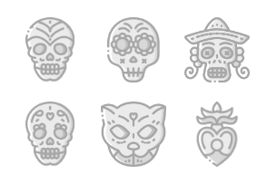 Day Of The Dead - Greyscale