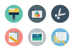 Design Flat Icons Vol 3