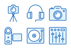 Devices - Monochrome Icons