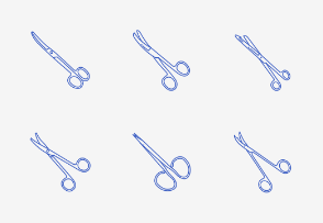 Dissecting and Surgical Scissors