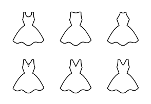 Dresses - Outline v2