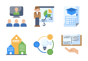 Education And E-Learning Flaticons
