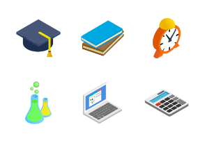 Education - isometric