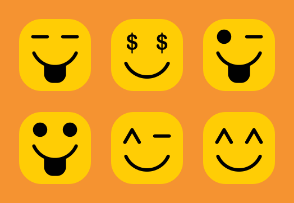 Emoticon Set Volume 1