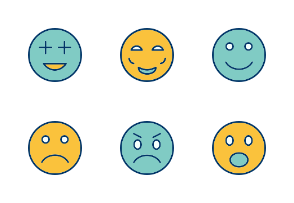Emoticons Filled Two Color