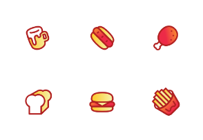 Fast food Color