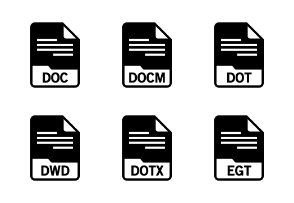 File Format: Documents Glyph 2