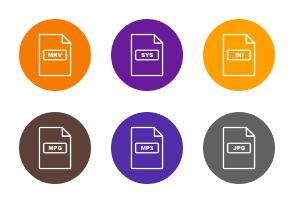 File Formats Line Circle