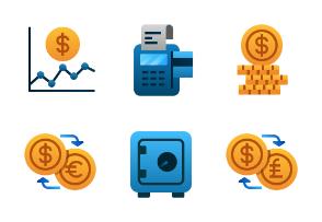 Finance (flat gradient)