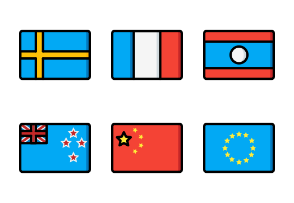 Flags - Ultra Color