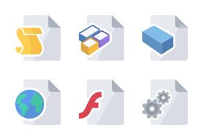 Flat Design - Development set 4