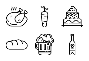 Lined Food