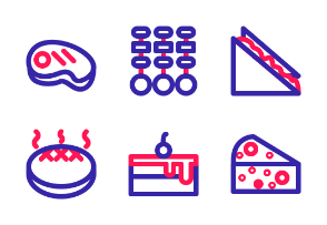 Food (Two Outline)