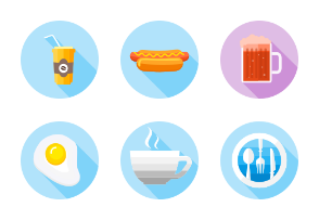 foods flat round