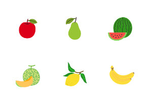 Fruits in colour