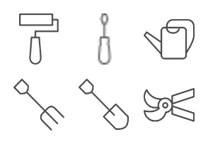 Garden and Tools