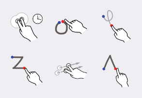 Open Source Gesture Library