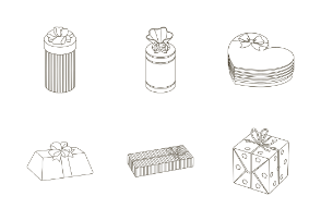 Gift and packaging