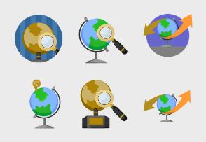 Globe & geography