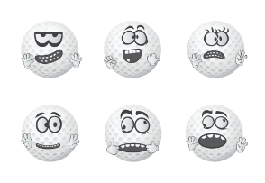 Golf Ball Emojis