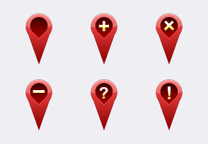 GPS Map icons