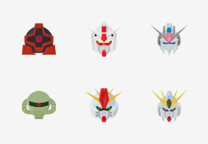 Gundam - Flat