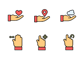 Hand Gesture Filled
