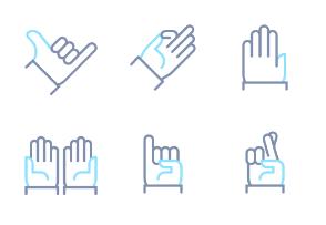 Linio - Hand Gestures