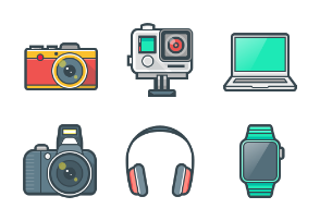 Hardware, devices and gadgets (Color)