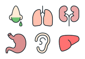 Healthcare - Color Icons