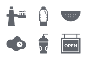 Hotel and Restaurant Glyphs vol 2