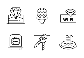 Hotel services And City Elements