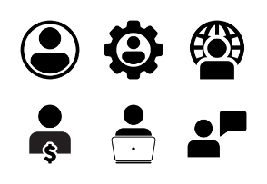 Human, Person, User Profile, Business Avatars