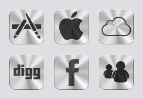 iCloud Style Icons