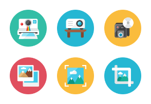 Images Icons - Rounded
