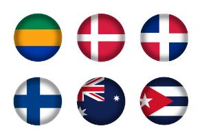 International Flag Serie 3