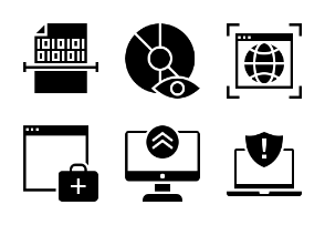 Internet and Security Glyph 1