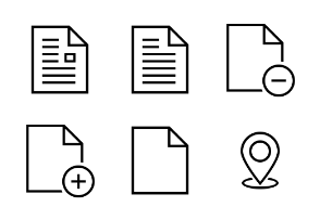 iOS and Android Solid Icons Vol 2