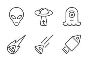 iOS icons - Space