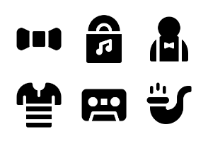 Jumpicon - Hipster (Glyph)