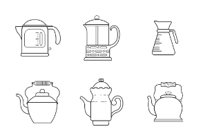 Kettle and teapot line