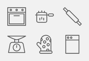 Kitchen utensil line vol 1
