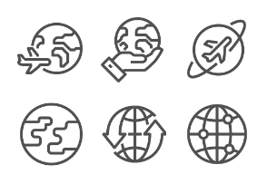 Lined globe